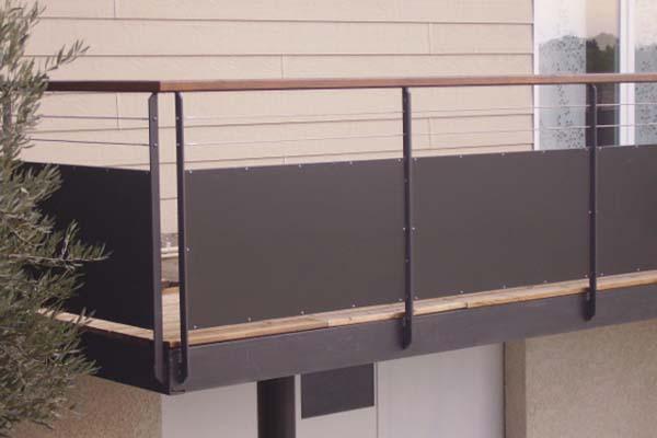 Extension terrasse et rambardes villeveyrac ferstyle vous pr sente ses cr ations - Extension sur terrasse ...