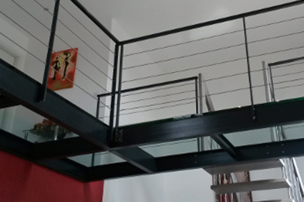 passerelle fer et verre laurens ferstyle vous pr sente. Black Bedroom Furniture Sets. Home Design Ideas