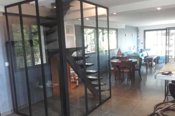 verri re cage d 39 escalier sete ferstyle vous pr sente ses cr ations. Black Bedroom Furniture Sets. Home Design Ideas